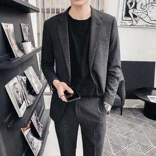 メンズスーツセットアップ大人気エリート定番ビジネス結婚式スリム紳士服 OT038(セットアップ)