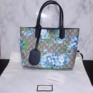 グッチ(Gucci)の【本日限定!最終値下】保存袋付 グッチ ブルームス リバーシブルトートバッグ(トートバッグ)