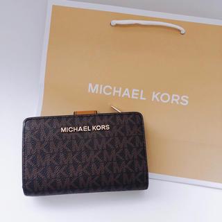 マイケルコース(Michael Kors)の新品未使用 マイケルコース  Michael Kors ブラウン(財布)