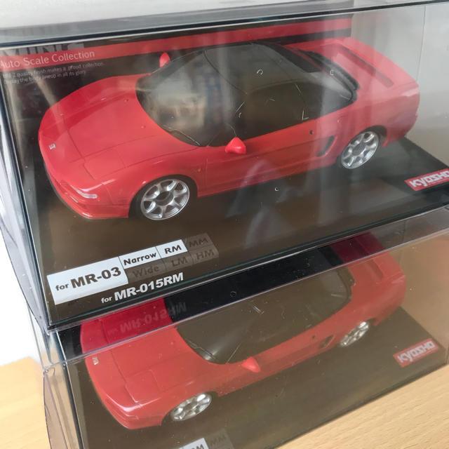 ミニッツ オートスケール NSX 2台セット エンタメ/ホビーのおもちゃ/ぬいぐるみ(ホビーラジコン)の商品写真