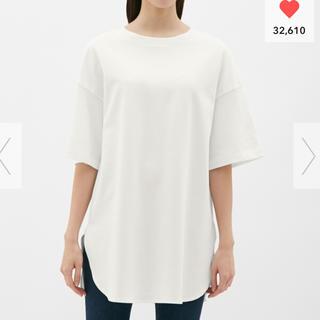 ジーユー(GU)のGU ヘビーウェイトオーバーサイズT 新品(Tシャツ(半袖/袖なし))