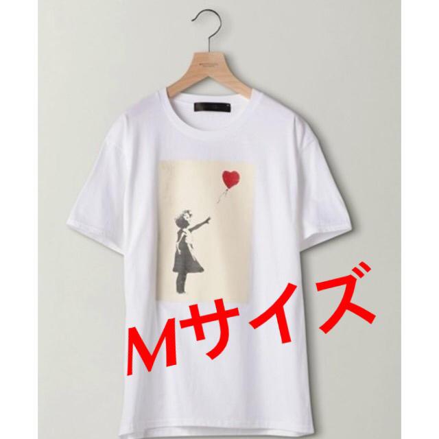 BEAUTY&YOUTH UNITED ARROWS(ビューティアンドユースユナイテッドアローズ)の BEAUTY&YOUTH / Banksy GIRL SHURETTA Tee メンズのトップス(Tシャツ/カットソー(半袖/袖なし))の商品写真