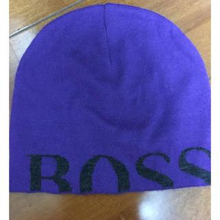 ヒューゴボス(HUGO BOSS)のヒューゴボス ニットキャップ(ニット帽/ビーニー)