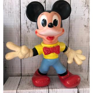 ミッキーマウス ヴィンテージ フィギュア 箱あり。(キャラクターグッズ)