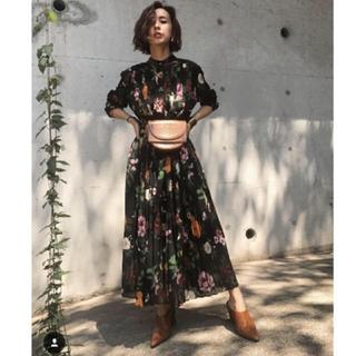 アメリヴィンテージ(Ameri VINTAGE)のCOCO FLOWER DRESS(ロングワンピース/マキシワンピース)