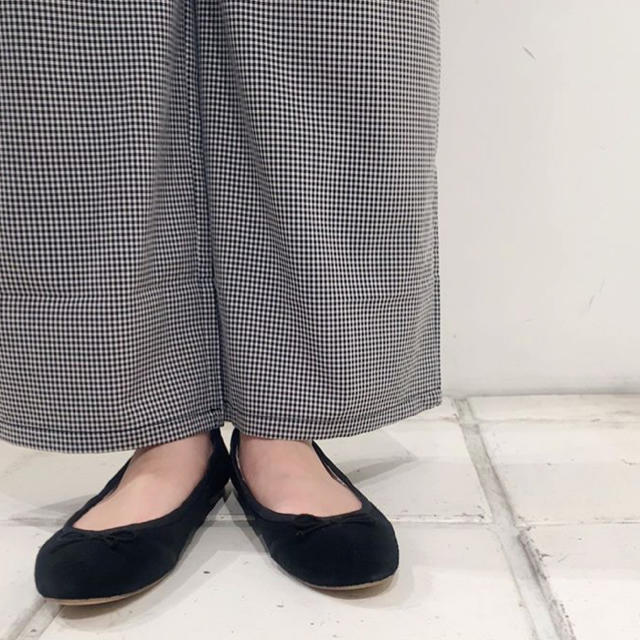 flower(フラワー)のhappy gingham pants ~ハッピーギンガムパンツ レディースのパンツ(カジュアルパンツ)の商品写真
