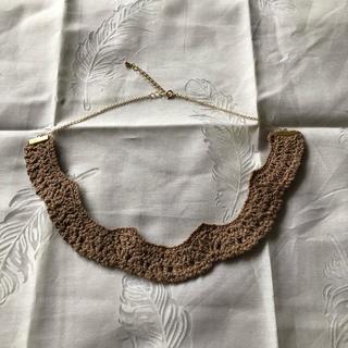 レース編みネックレス(ネックレス)