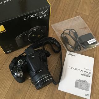ニコン(Nikon)のNicon COOLPIX P600(コンパクトデジタルカメラ)
