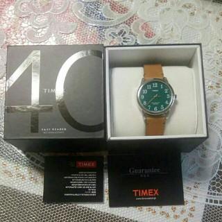 タイメックス(TIMEX)のTIMEX イージーリーダー ホーウィンレザー(腕時計(アナログ))