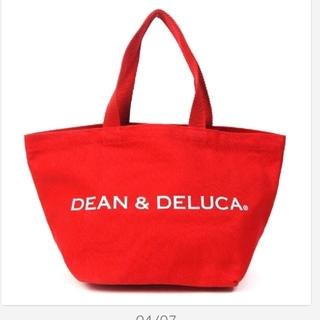 ディーンアンドデルーカ(DEAN & DELUCA)のDEAN&DELUCA レッド 赤 Sサイズ ディーン&デルーカ トートバッグ(トートバッグ)