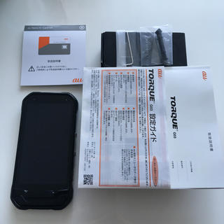 キョウセラ(京セラ)のTORQUE G03 SIMロック解除済み ブラック(スマートフォン本体)