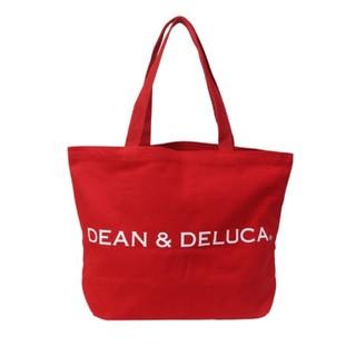 ディーンアンドデルーカ(DEAN & DELUCA)のDEAN&DELUCA ラージ レッド 赤 ディーン&デルーカ トートバッグ(トートバッグ)