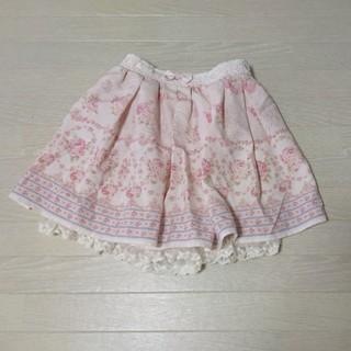 リズリサ(LIZ LISA)のリズリサ☆花柄スカパン(ミニスカート)
