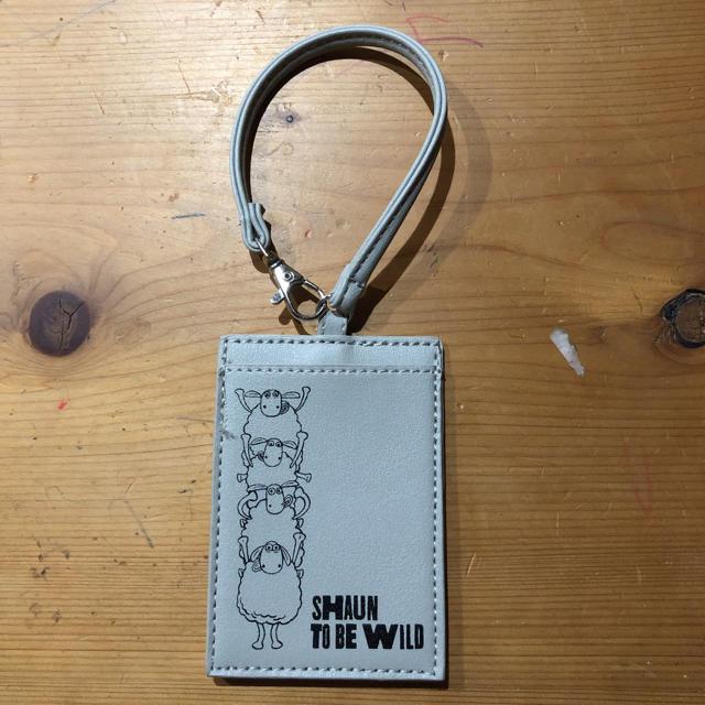 しまむら(シマムラ)の値下げ☆パスケース  ひつじのショーン レディースのファッション小物(名刺入れ/定期入れ)の商品写真