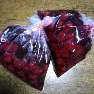 GiL  Veot様専用☆しょっぱくて酸っぱい手作り梅干し☆1キロ(漬物)