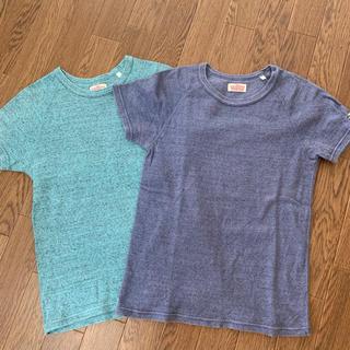 ハリウッドランチマーケット(HOLLYWOOD RANCH MARKET)のハリウッドランチマーケット Tシャツ  2枚セット  1(Tシャツ(半袖/袖なし))