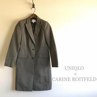 ユニクロ(UNIQLO)の極美品⭐️UNIQLO×CARINE ROITFELD  スプリングコート (スプリングコート)