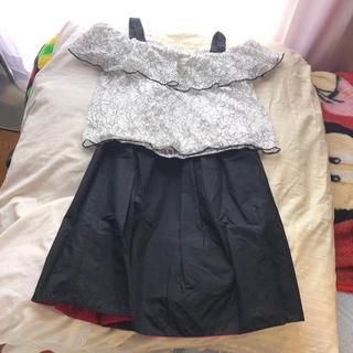 ジーユー(GU)のGU ジーユー トップス&スカートセット 春先から夏頃までおすすめ♪(カットソー(半袖/袖なし))