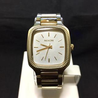 ニクソン(NIXON)のNIXON SHELLEY CHAMPAGNE GOLD(腕時計)