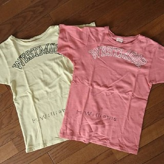 デニムダンガリー(DENIM DUNGAREE)のデニム&タンガリー Tシャツ 2枚 150 155 160 マーキーズ(Tシャツ/カットソー)