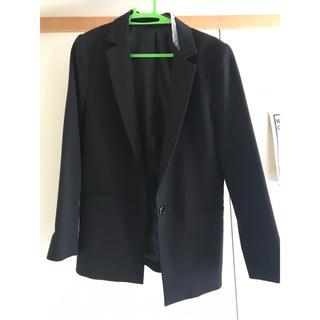 ジーユー(GU)のGU ブラックジャケット(テーラードジャケット)