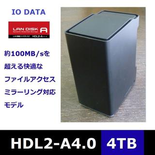NAS-4TB[完動/良品]HDL2-A4.0