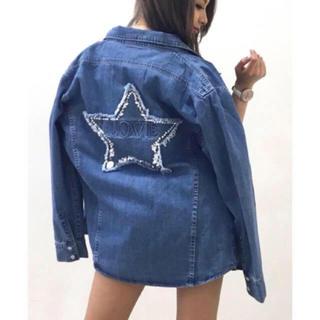 ダチュラ(DaTuRa)の新品♡DaTuRa♡星デコシャツ♡(Gジャン/デニムジャケット)