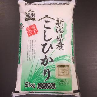【新潟県産】こしひかり30年産 蔵米認定 新しいものになります^^(米/穀物)