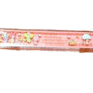 サンリオ(サンリオ)の新品♥マイメロディー ピンク 箸入れ ケース 16.5㎝ サンリオ(カトラリー/箸)