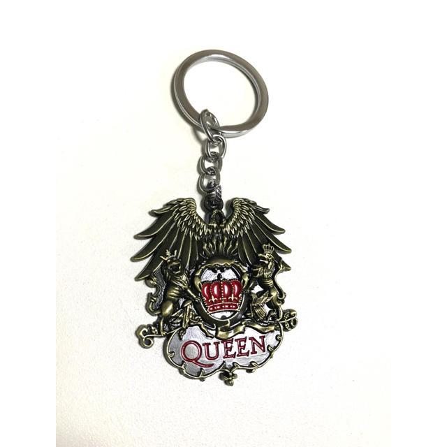 クイーン Queen キーホルダー ゴールド エンタメ/ホビーのタレントグッズ(ミュージシャン)の商品写真