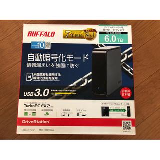 バッファロー(Buffalo)のBUFFALO HD-LX6.0U3D(PC周辺機器)