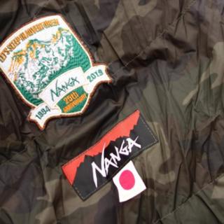 ナンガ(NANGA)の新品未開封 NANGA ナンガ 25周年記念限定シュラフ カモフラ柄(寝袋/寝具)