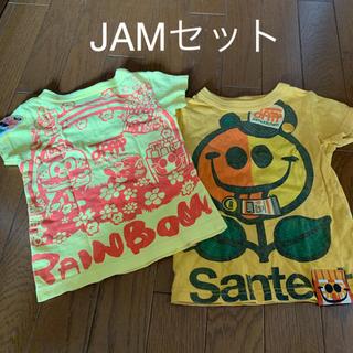 ジャム(JAM)のJAM 前も後ろも可愛い 半袖 Tシャツ セット 90cm (Tシャツ/カットソー)