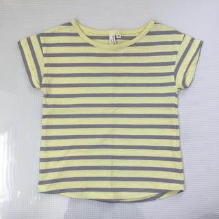 ラーゴム(LAGOM)のサマンサモスモスラーゴム ボーダーTシャツ 95サイズ(Tシャツ/カットソー)