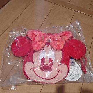 ディズニー(Disney)のディズニー/ミニーちゃん👛ちりめんポーチ(和装小物)