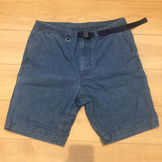 ザノースフェイス(THE NORTH FACE)のTHE NORTH FACE denim shorts supreme(デニム/ジーンズ)