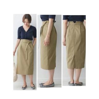 ドアーズ(DOORS / URBAN RESEARCH)の新品タグ付き ウエストリボン スカート(ひざ丈スカート)