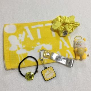トリプルエー(AAA)のAAA 10th マフラータオル 黄セット③(ミュージシャン)