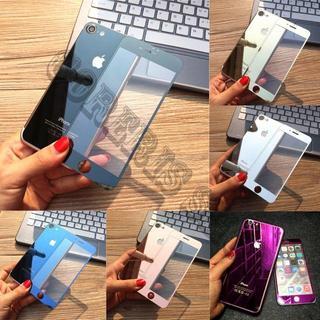 (前後)鏡面強化ガラス保護フィルム(iPhoneケース)