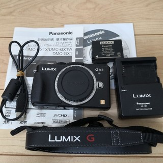 パナソニック(Panasonic)のLumix GX1 body(コンパクトデジタルカメラ)