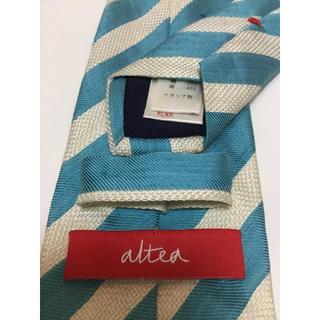 アルテア(ALTEA)のAltea(アルテア)  水色ストライプネクタイ(ネクタイ)