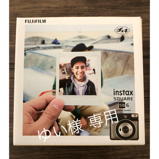 フジフイルム(富士フイルム)のチェキ SQ6(フィルムカメラ)