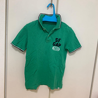 ギャップキッズ(GAP Kids)のgapkids Mサイズ 8歳  130センチ男の子ポロシャツ(Tシャツ/カットソー)