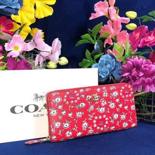 コーチ(COACH)のCOACH ワイルド ハート キャンバス PVC レザー 長財布(財布)
