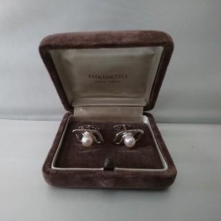 ミキモト(MIKIMOTO)の未使用 ミキモト シルバー 本真珠 カフス パール MIKIMOTO(カフリンクス)
