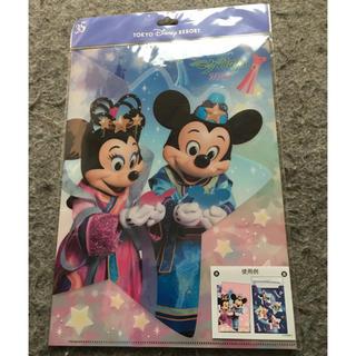 ディズニー(Disney)のディズニーリゾート  七夕 クリアファイル(ファイル/バインダー)