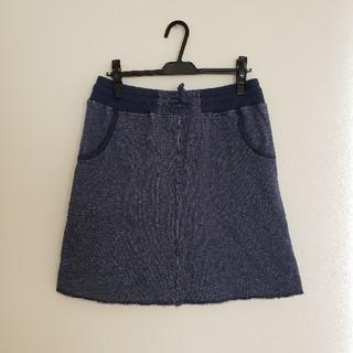 チャムス(CHUMS)の*2回着用*チャムス スウェットスカート(ミニスカート)
