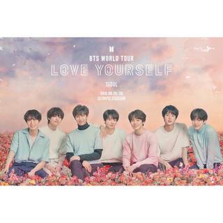 ボウダンショウネンダン(防弾少年団(BTS))の♡ BTS LOVE YOURSELF ポスター ♡(アイドルグッズ)
