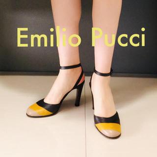 エミリオプッチ(EMILIO PUCCI)のエミリオプッチ サンダル パンプス ヒール マルチカラー(ハイヒール/パンプス)