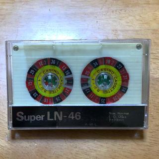 カセットテープ  Super LN-46  珍しいルーレット 80s(その他)